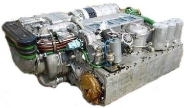 Танковый двигатель 5ТДФ