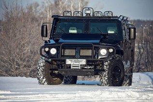 GAZ «Tiger» - Люксовая версия внедорожника от DDM