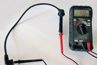 Легкий способ проверки высоковольтных проводов