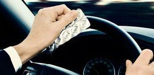 Как употреблять лекарства за рулем. Препараты, несущие водителю вред